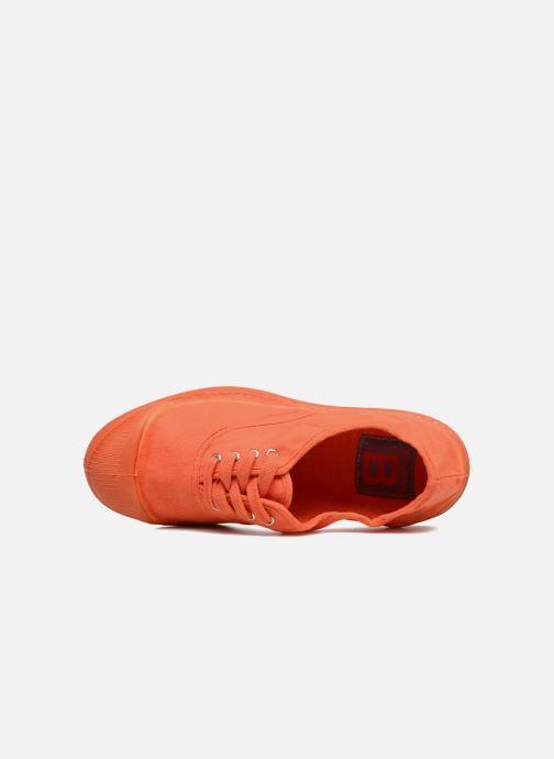 Deportivas Bensimon Tennis Colorsole E Naranja vista lateral izquierda