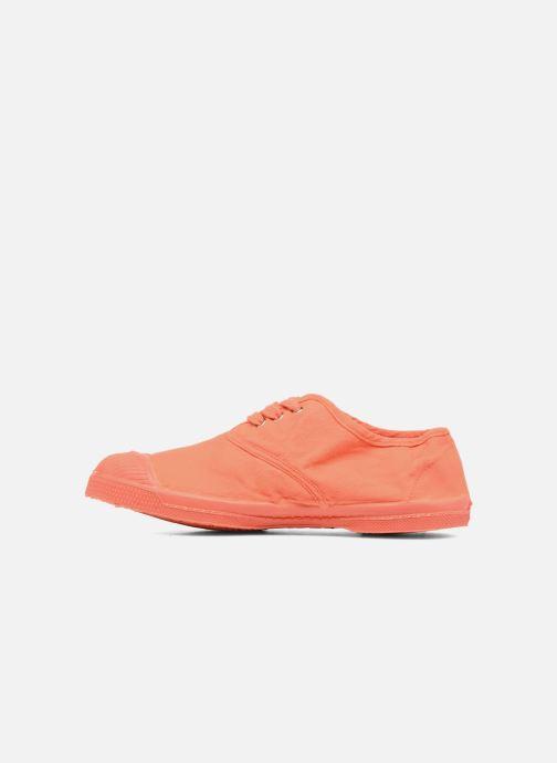 Baskets Bensimon Tennis Colorsole E Orange vue face