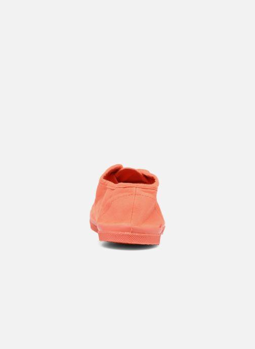 Baskets Bensimon Tennis Colorsole E Orange vue droite