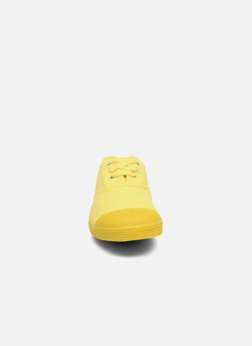 Deportivas Bensimon Tennis Colorsole E Amarillo vista del modelo