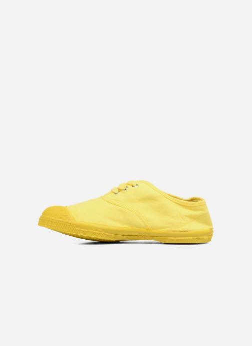 Baskets Bensimon Tennis Colorsole E Jaune vue face