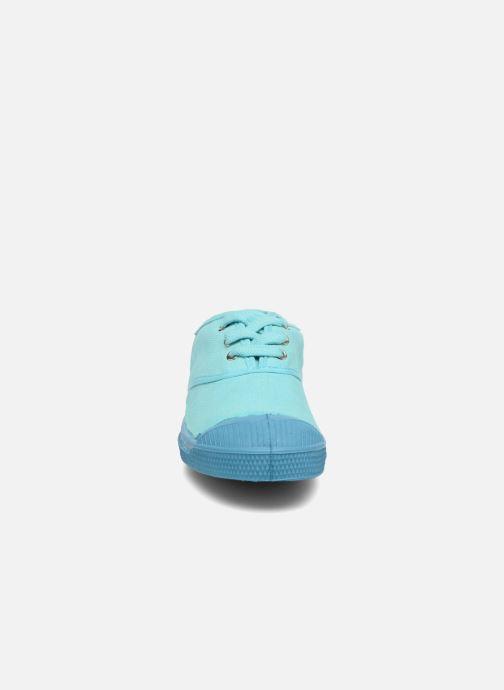 Deportivas Bensimon Tennis Colorsole E Azul vista del modelo