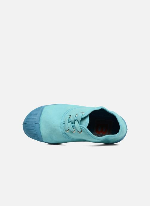 Baskets Bensimon Tennis Colorsole E Bleu vue gauche
