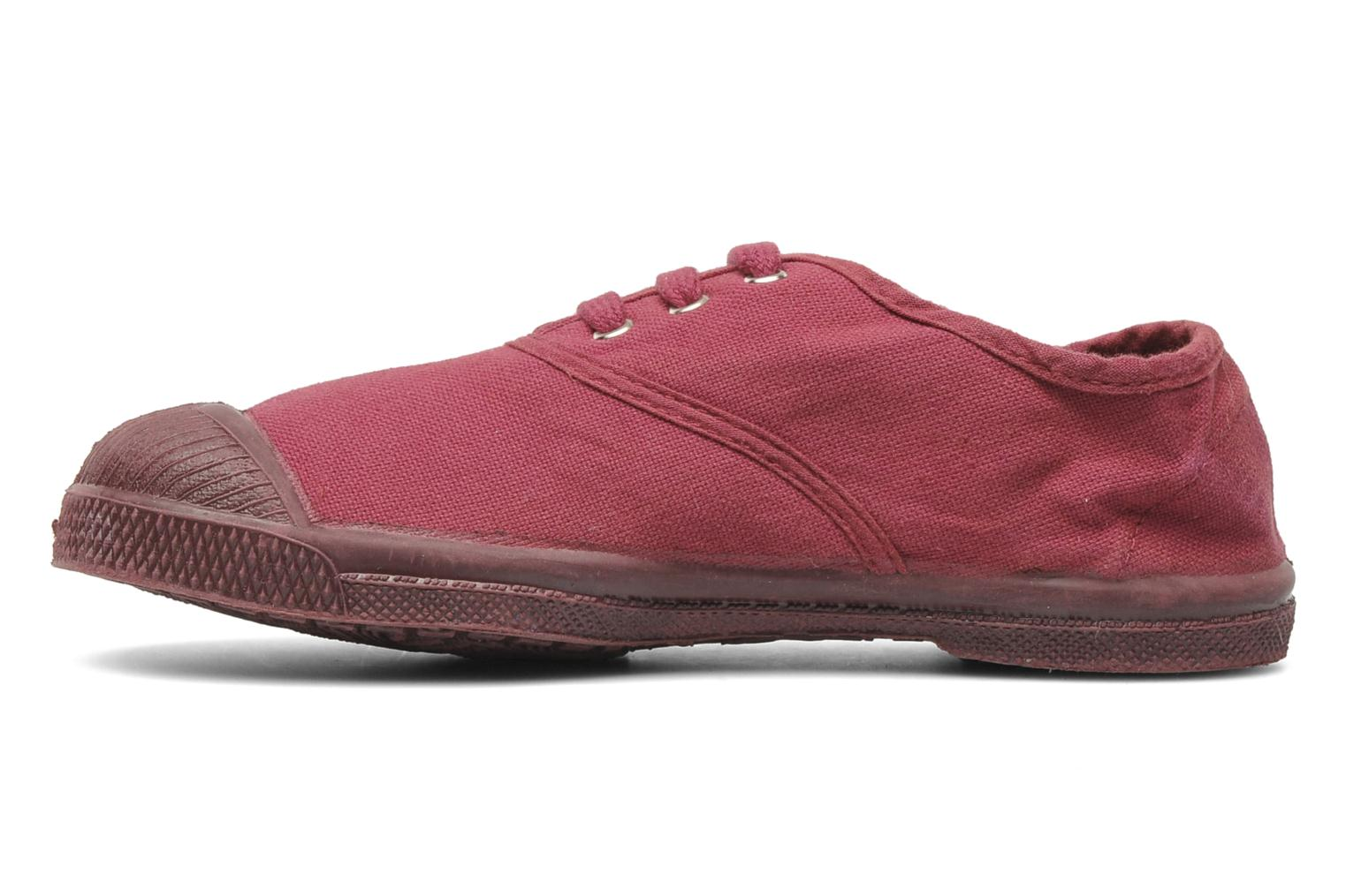 Baskets Bensimon Tennis Colorsole E Rose vue face