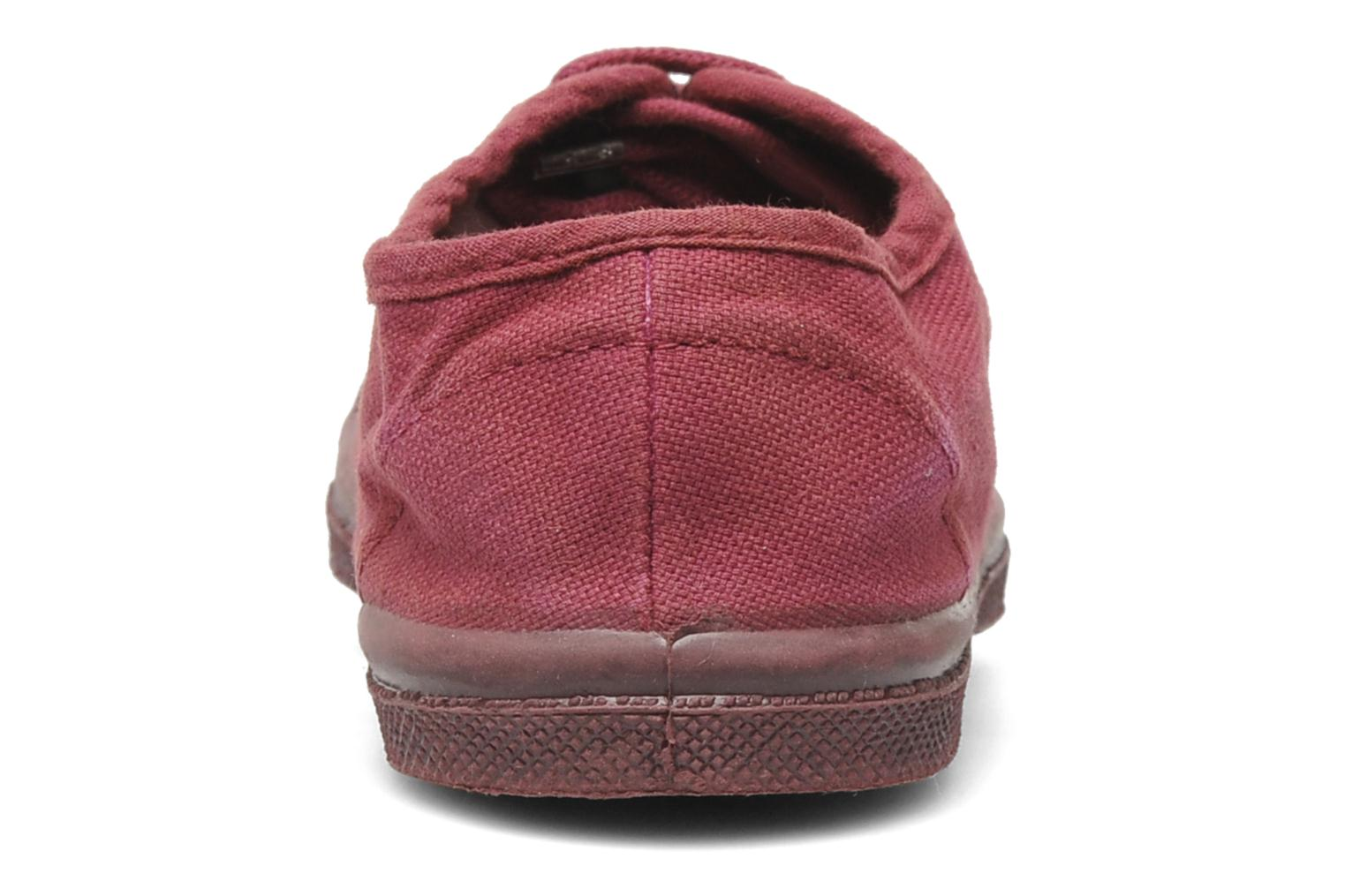 Baskets Bensimon Tennis Colorsole E Rose vue droite
