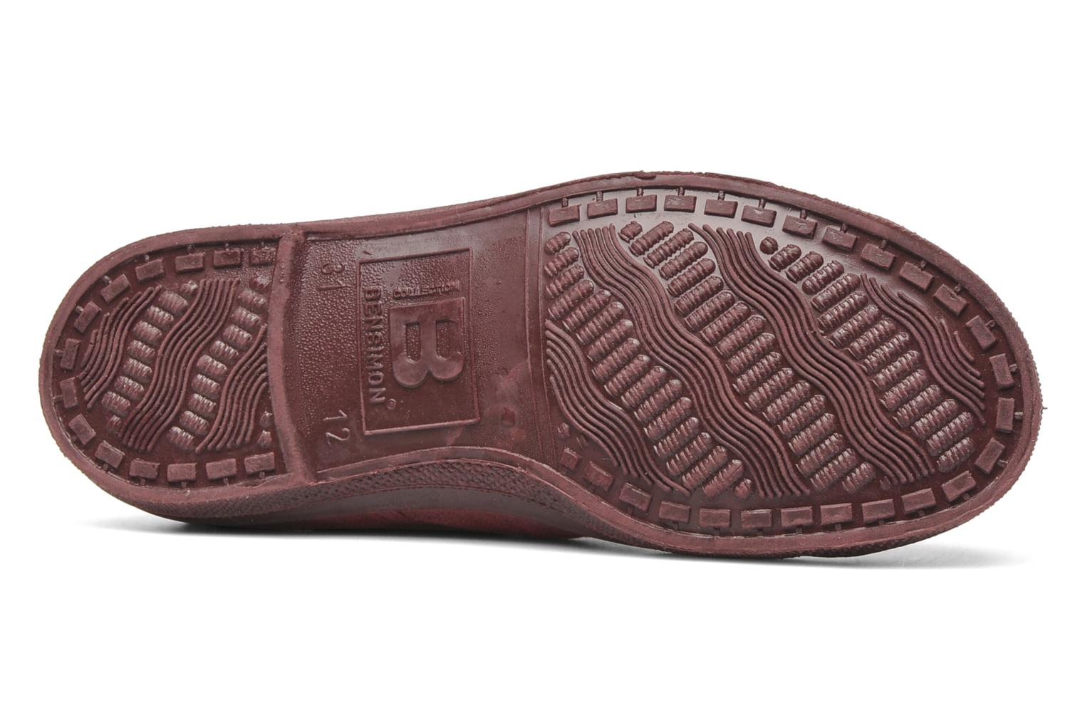 Baskets Bensimon Tennis Colorsole E Rose vue haut