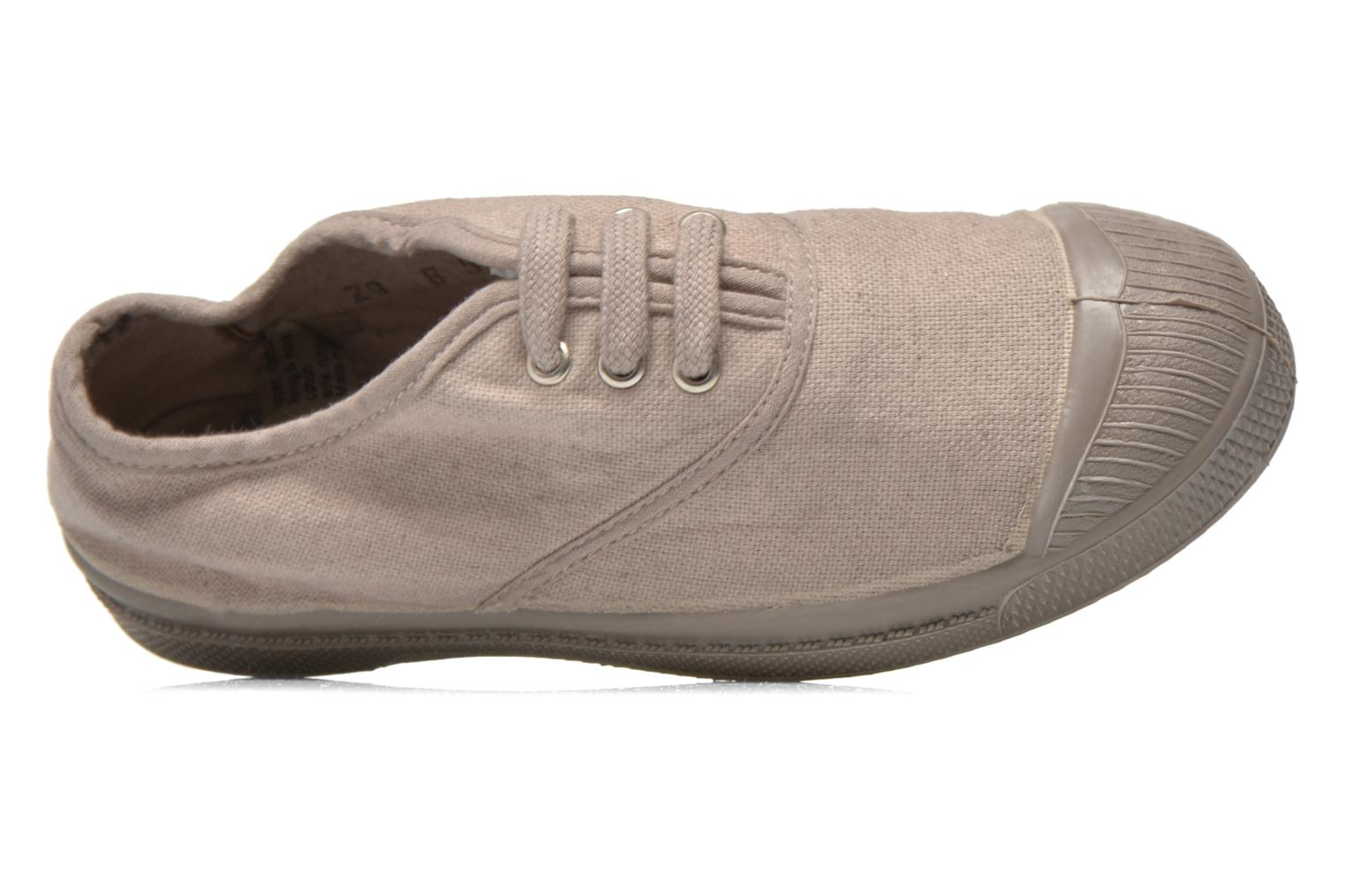 Trainers Bensimon Tennis Colorsole E Grey view from the left