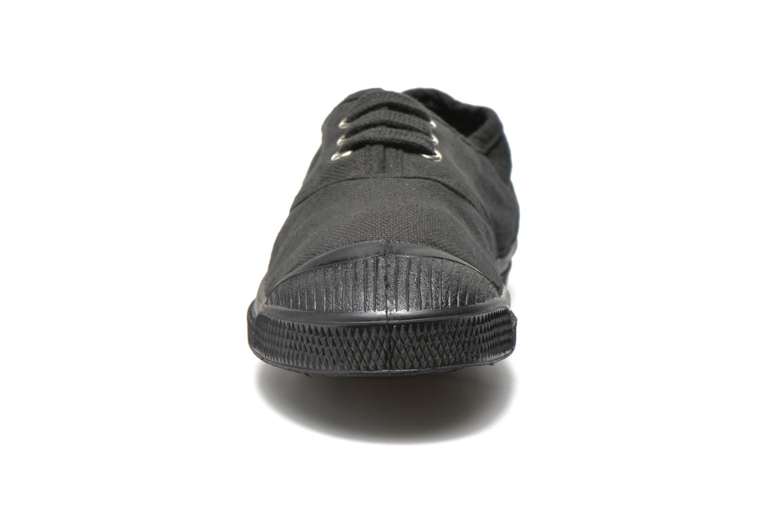 Trainers Bensimon Tennis Colorsole E Black model view
