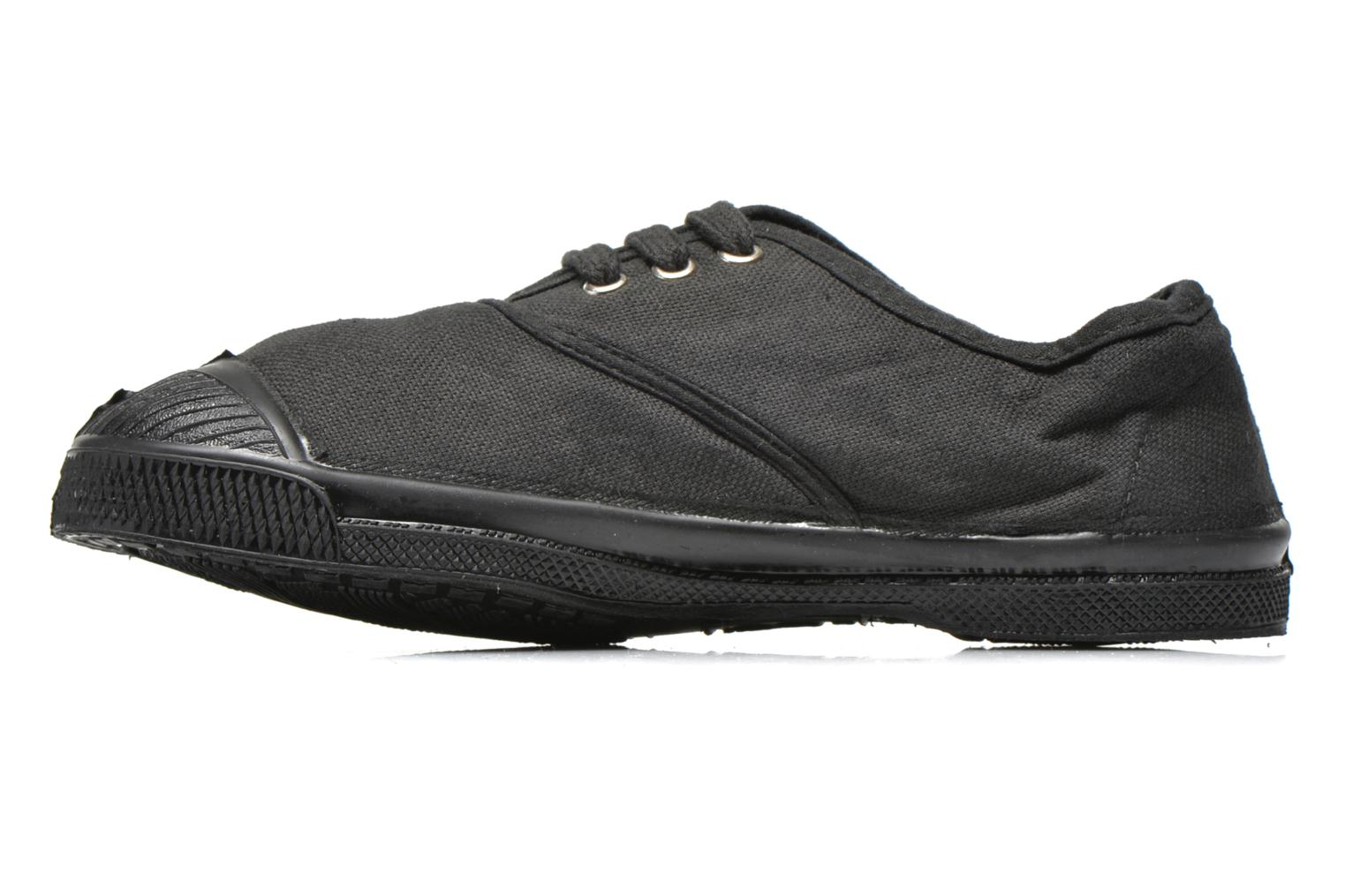 Trainers Bensimon Tennis Colorsole E Black front view