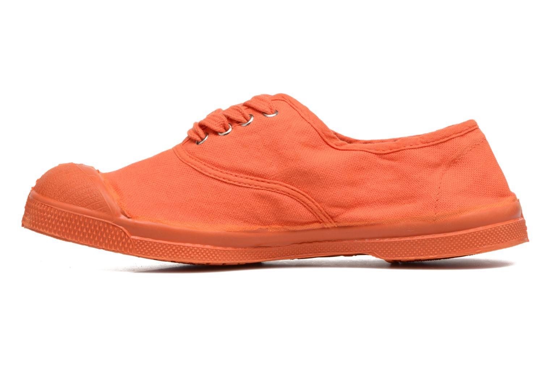 Sneakers Bensimon Tennis Colorsole E Arancione immagine frontale