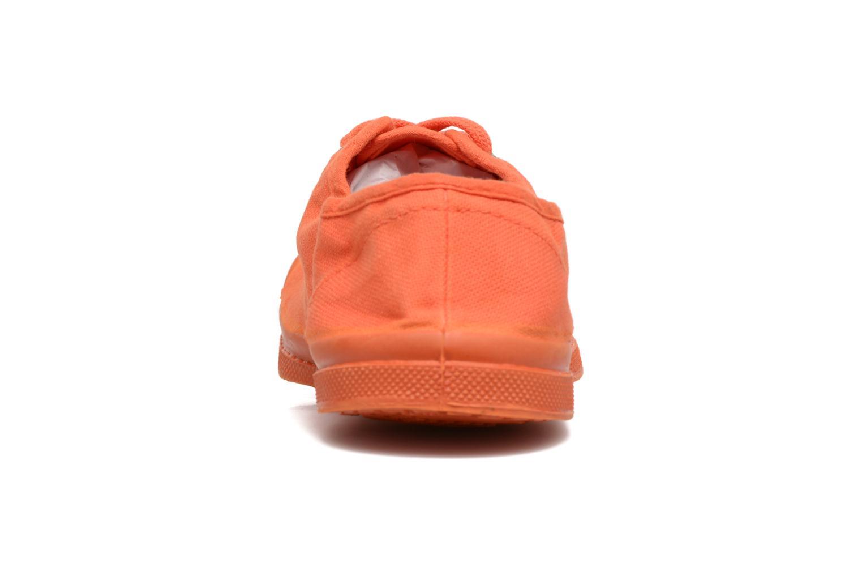 Sneakers Bensimon Tennis Colorsole E Arancione immagine destra