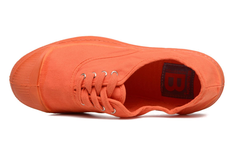 Sneaker Bensimon Tennis Colorsole E orange ansicht von links