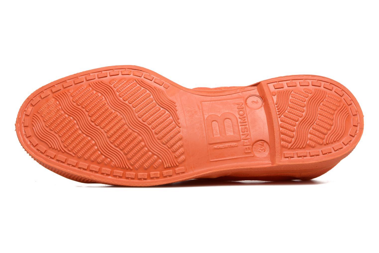 Sneakers Bensimon Tennis Colorsole E Arancione immagine dall'alto