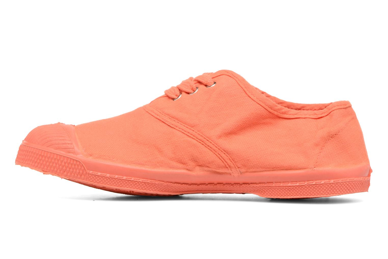 Baskets Bensimon Tennis Colorsole E Orange vue face
