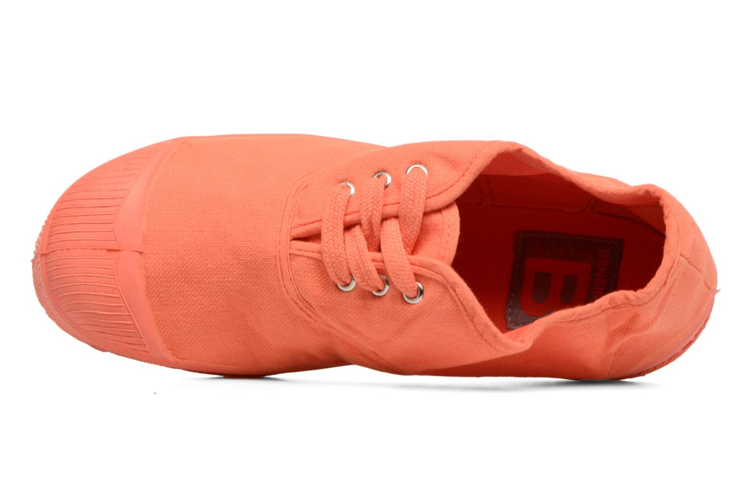 Baskets Bensimon Tennis Colorsole E Orange vue gauche
