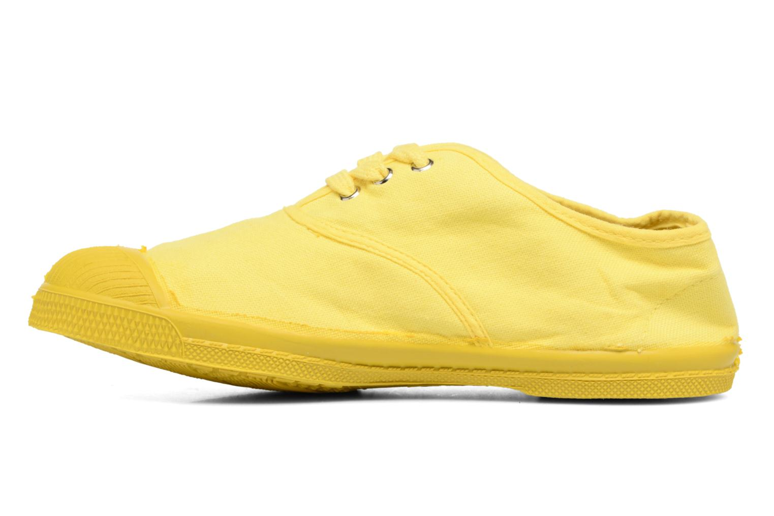 Trainers Bensimon Tennis Colorsole E Yellow front view