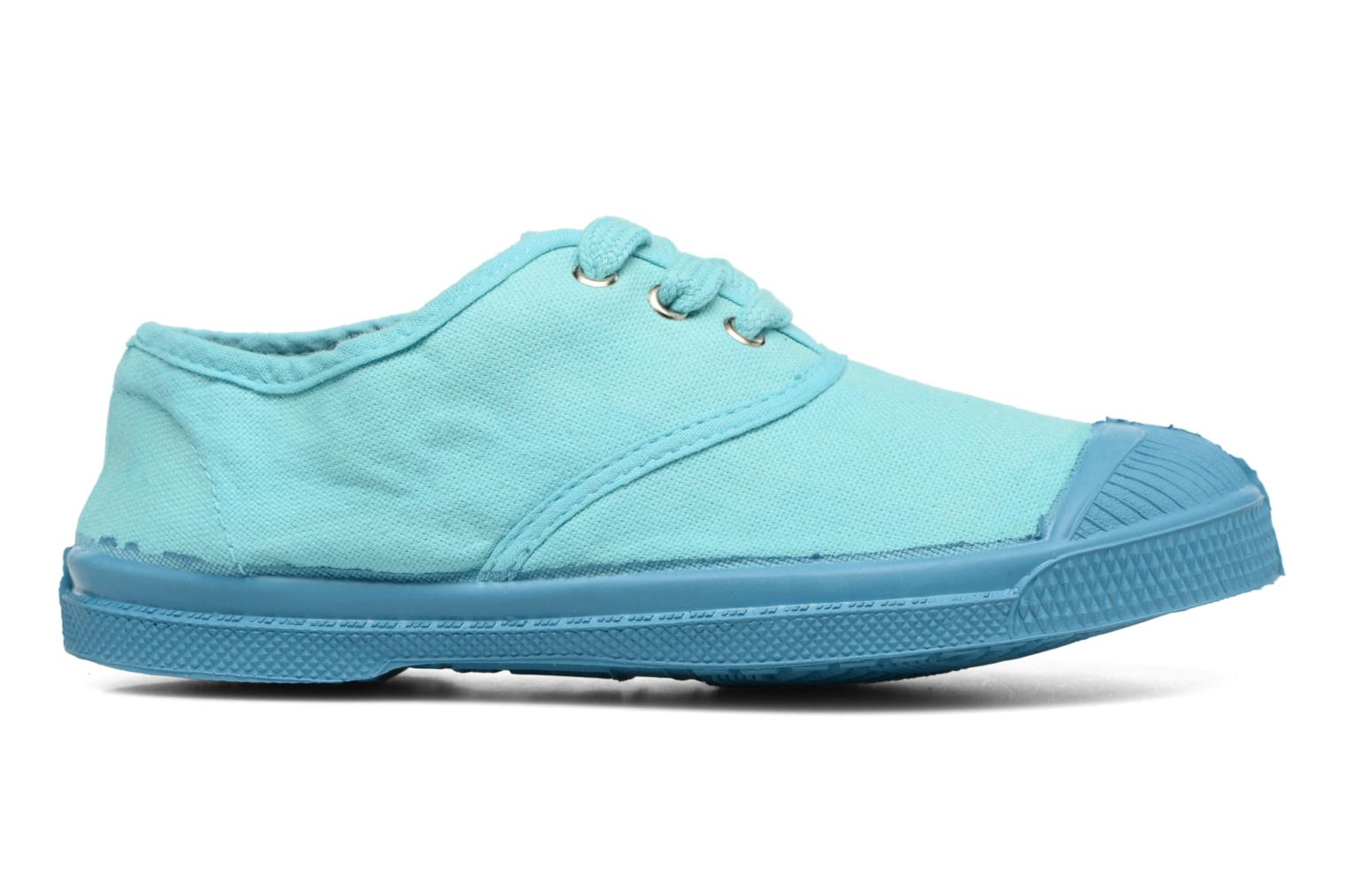Trainers Bensimon Tennis Colorsole E Blue back view