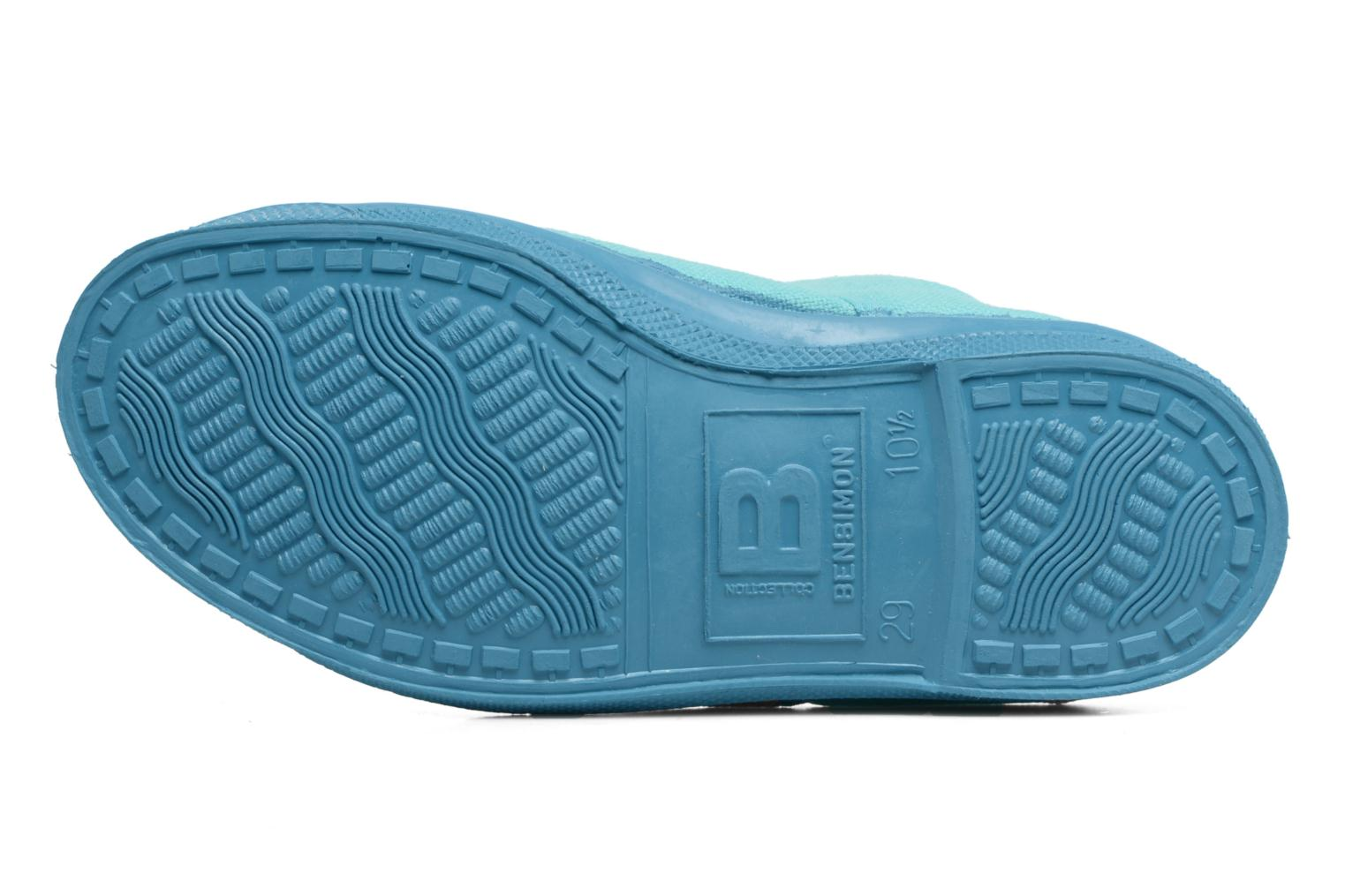 Trainers Bensimon Tennis Colorsole E Blue view from above