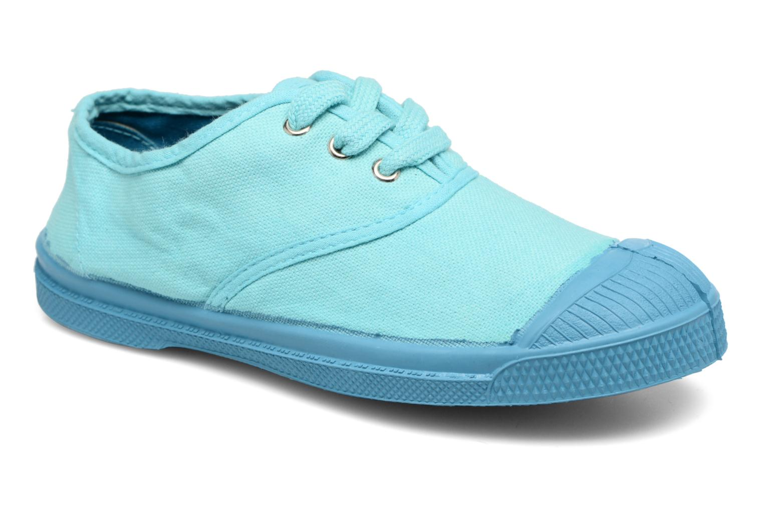 Trainers Bensimon Tennis Colorsole E Blue detailed view/ Pair view
