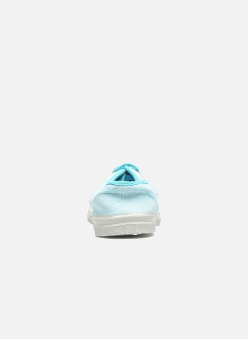 Sneakers Bensimon Tennis Colorpiping E Blauw rechts