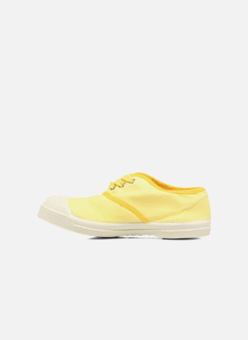 Baskets Bensimon Tennis Colorpiping E Jaune vue face