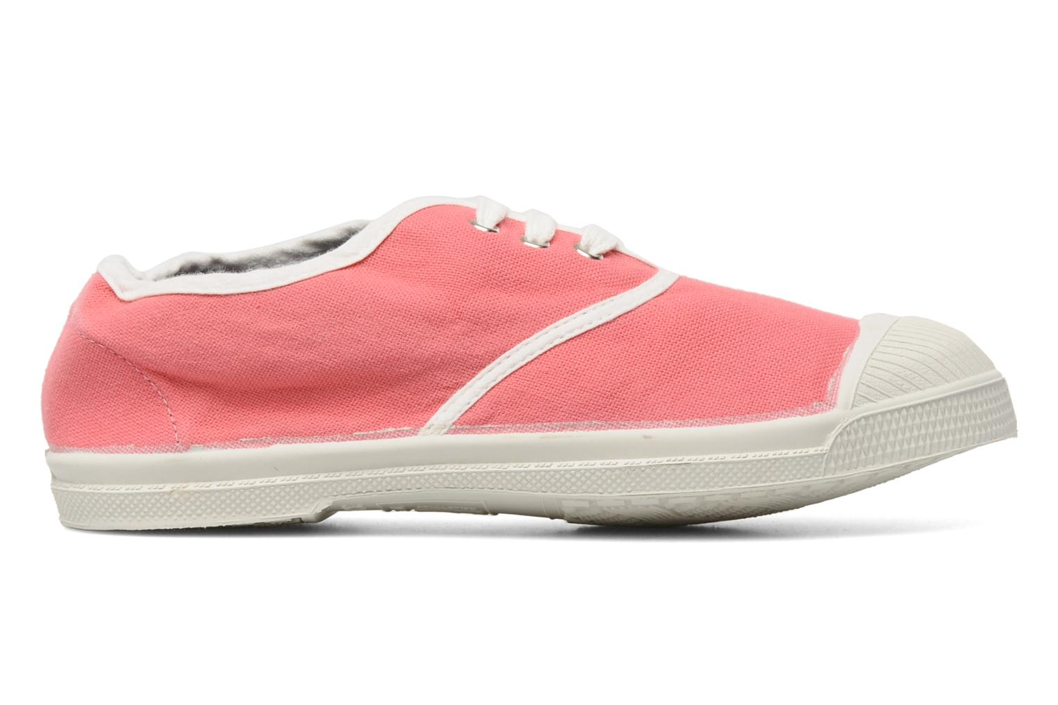 Baskets Bensimon Tennis Colorpiping E Rose vue derrière
