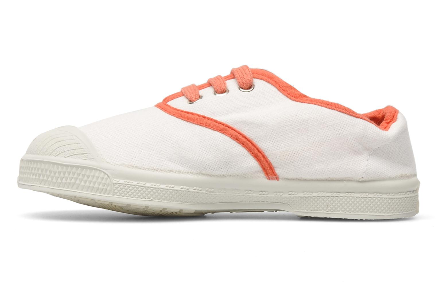 Trainers Bensimon Tennis Colorpiping E White front view