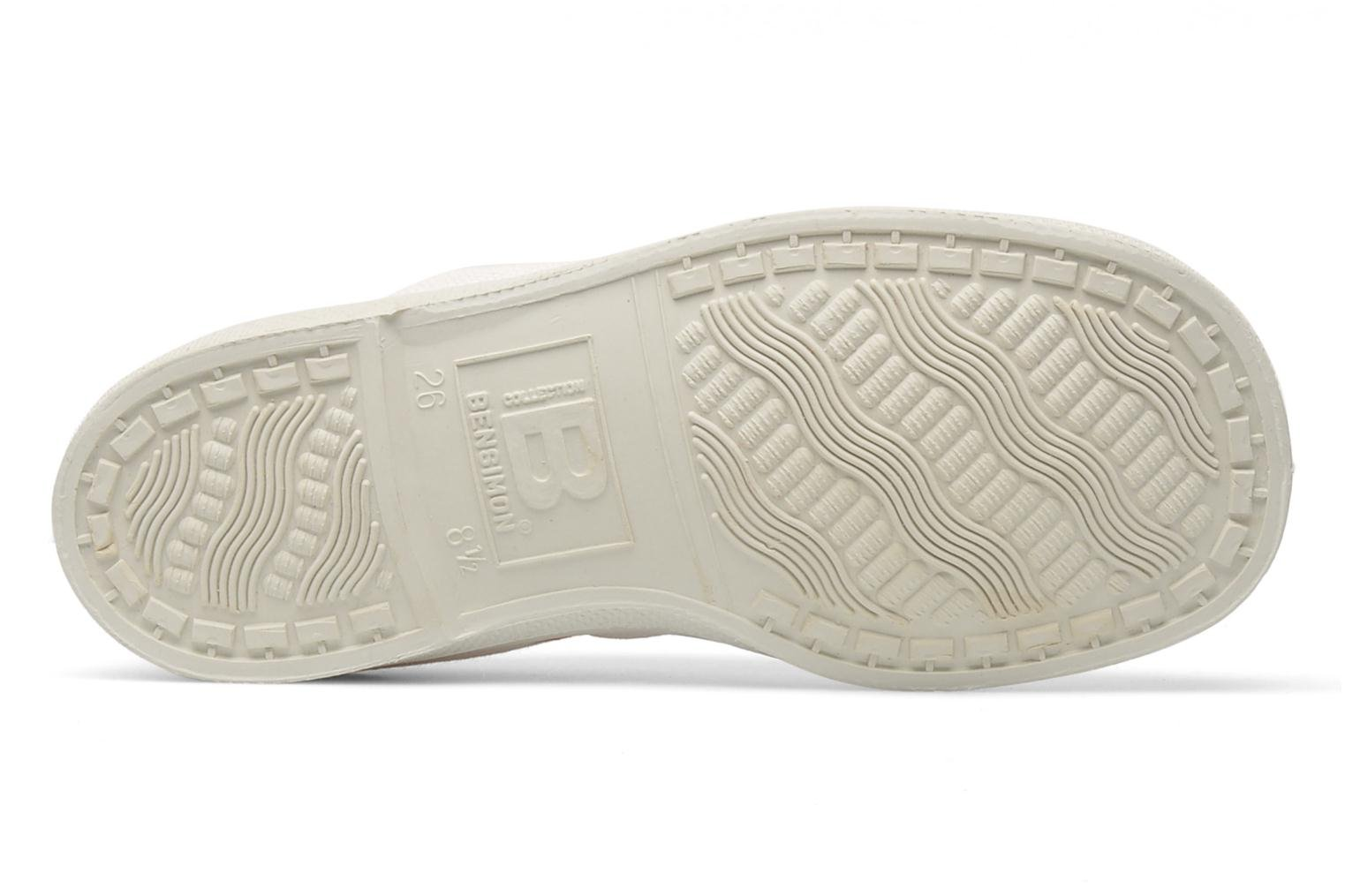 Trainers Bensimon Tennis Colorpiping E White view from above