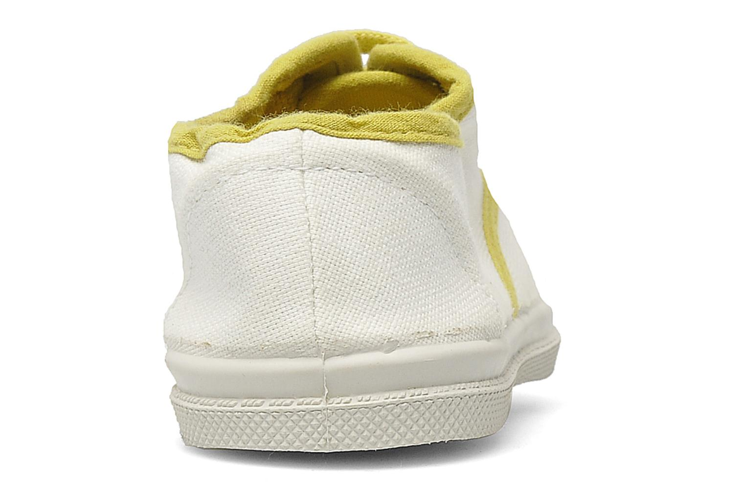 Baskets Bensimon Tennis Colorpiping E Blanc vue droite