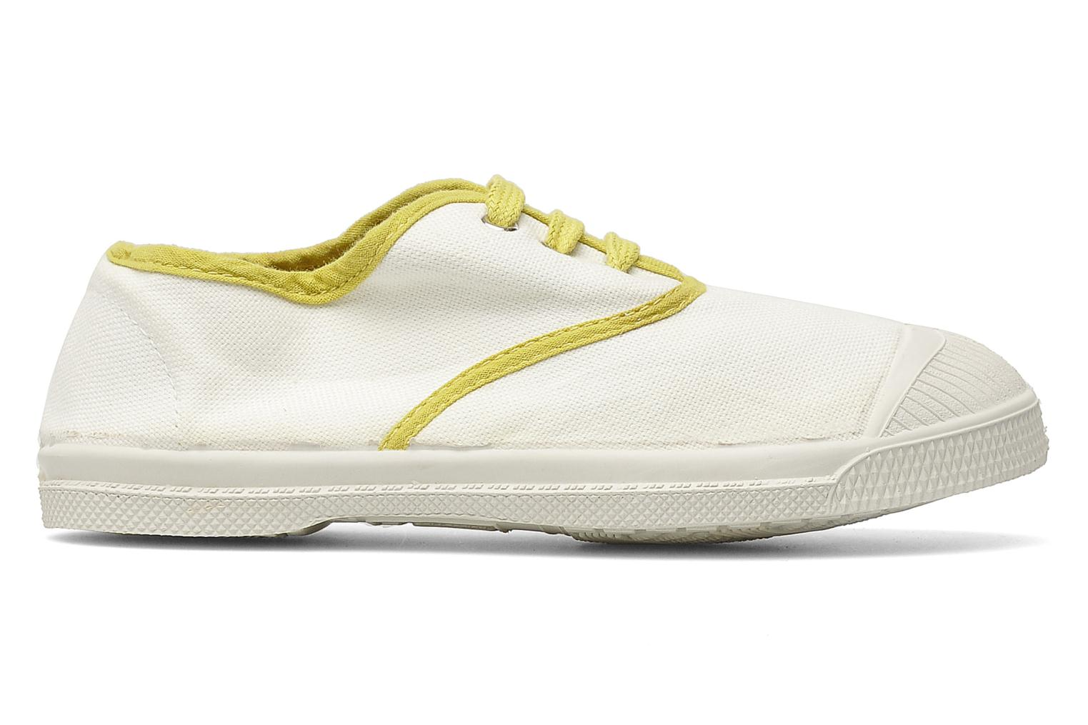 Baskets Bensimon Tennis Colorpiping E Blanc vue derrière