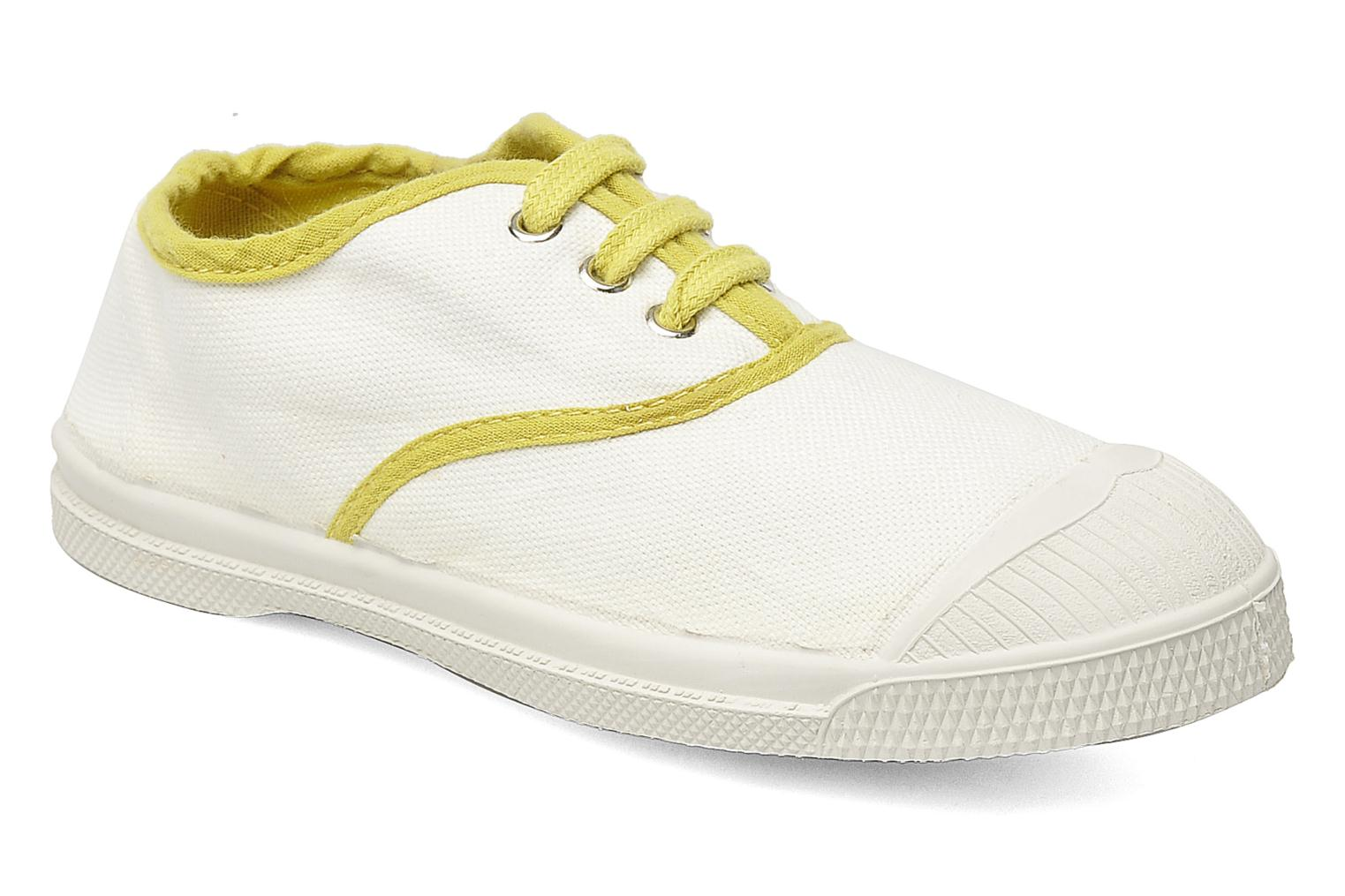 Baskets Bensimon Tennis Colorpiping E Blanc vue détail/paire