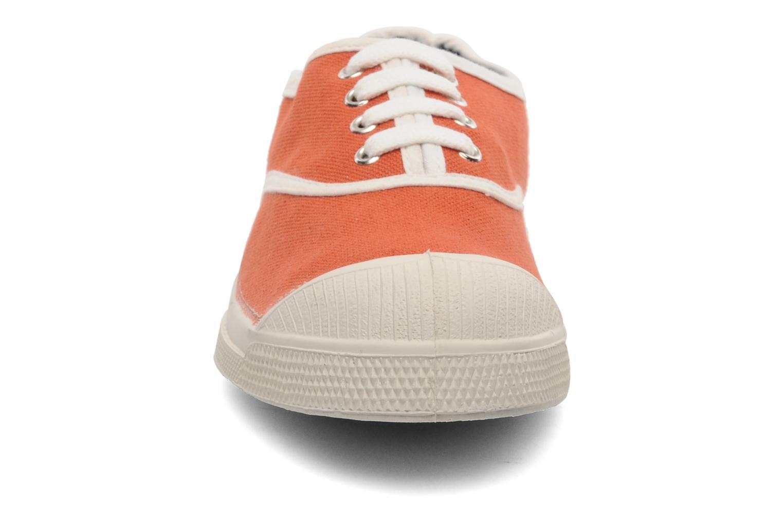 Deportivas Bensimon Tennis Colorpiping E Naranja vista del modelo
