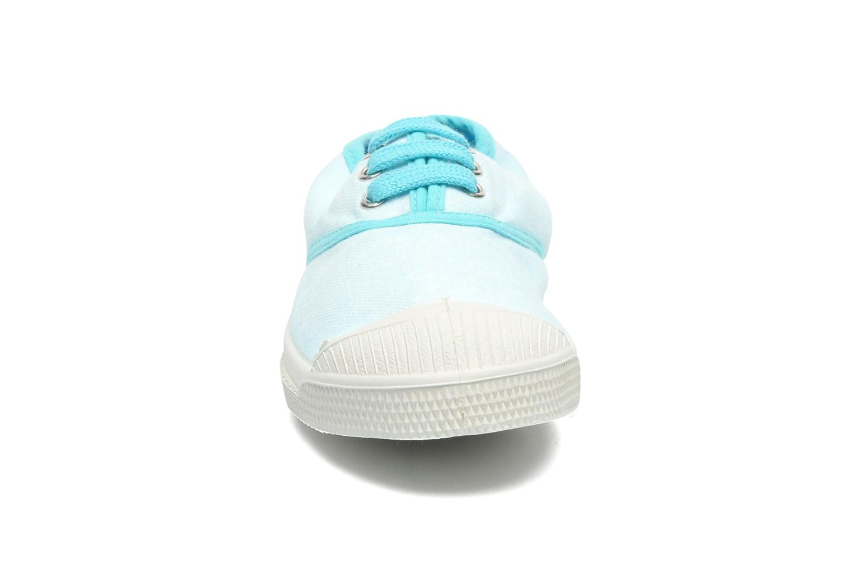 Deportivas Bensimon Tennis Colorpiping E Azul vista del modelo