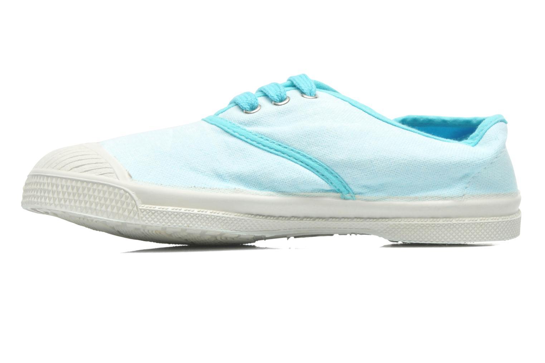 Deportivas Bensimon Tennis Colorpiping E Azul vista de frente