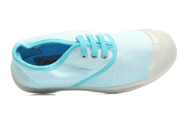 Deportivas Bensimon Tennis Colorpiping E Azul vista lateral izquierda