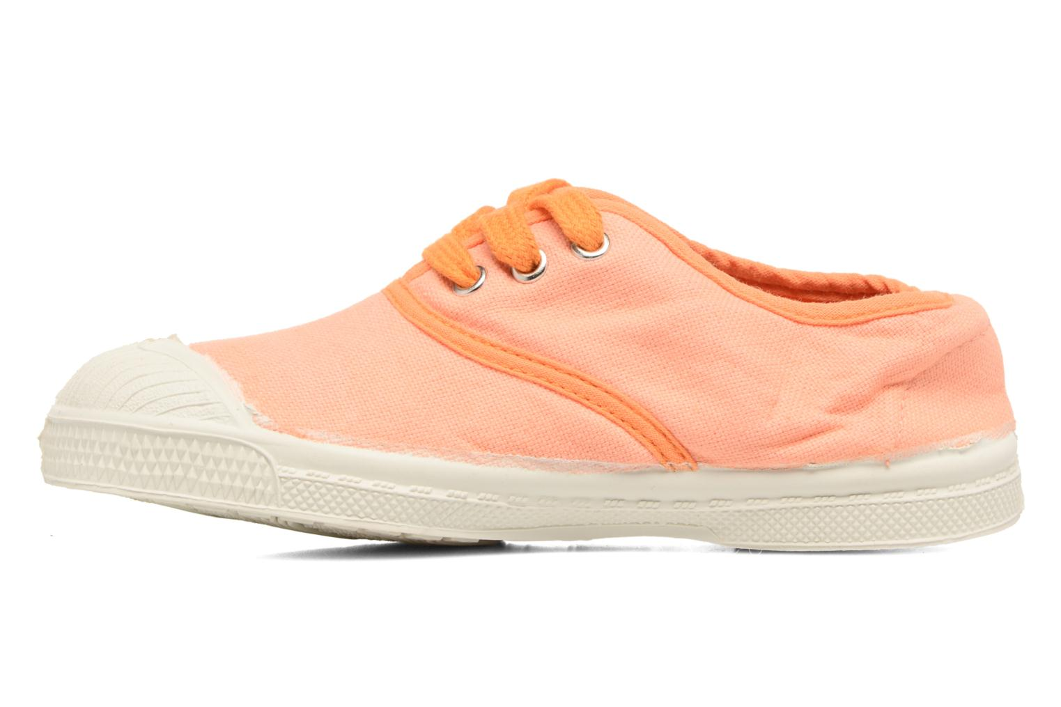 Baskets Bensimon Tennis Colorpiping E Orange vue face