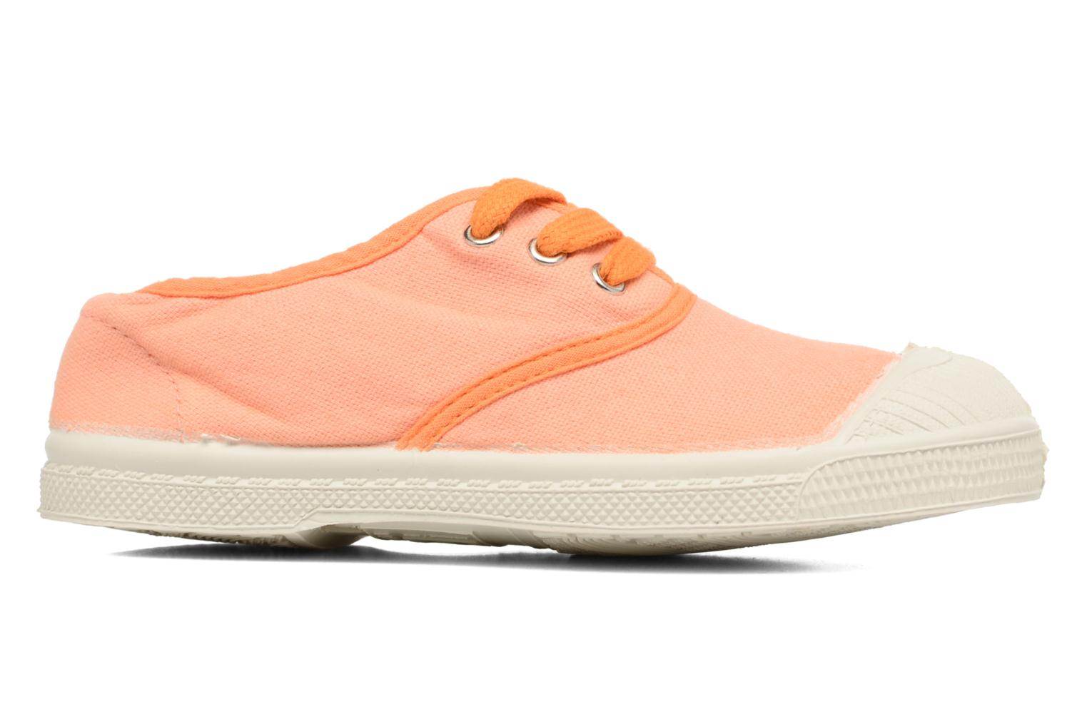 Baskets Bensimon Tennis Colorpiping E Orange vue derrière
