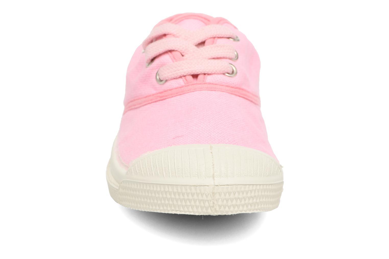 Baskets Bensimon Tennis Colorpiping E Rose vue portées chaussures