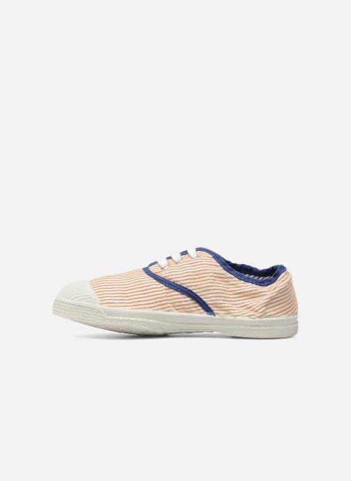 Sneakers Bensimon Tennis Rayures Souples E Arancione immagine frontale