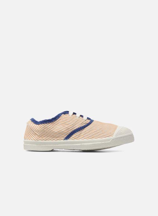 Sneakers Bensimon Tennis Rayures Souples E Arancione immagine posteriore