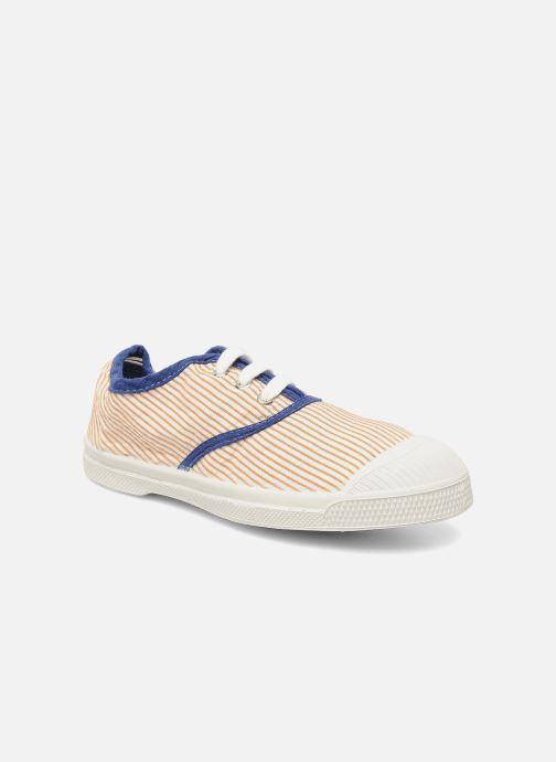 Sneakers Bensimon Tennis Rayures Souples E Orange detaljeret billede af skoene