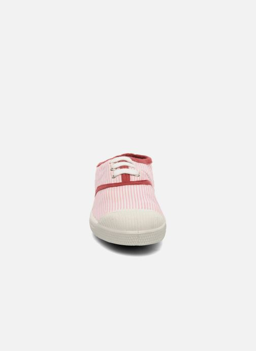 Trainers Bensimon Tennis Rayures Souples E Pink model view