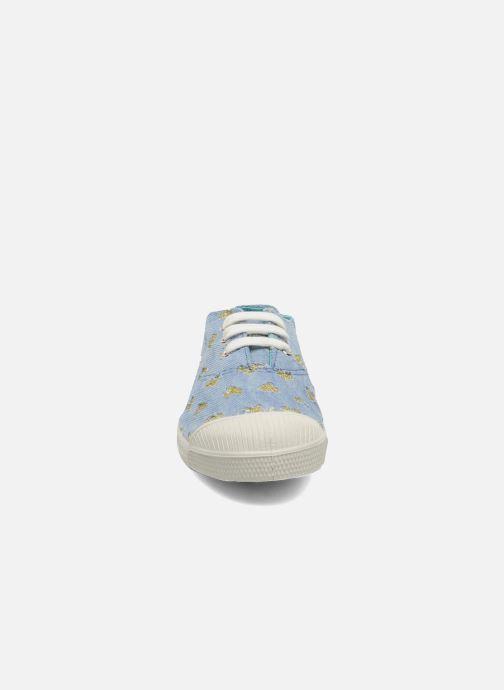 Baskets Bensimon Tennis Glitter Love E Or et bronze vue portées chaussures