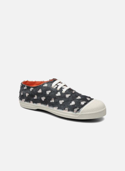 Sneakers Bensimon Tennis Glitter Love E Nero vedi dettaglio/paio