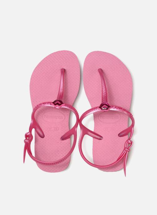 Sandales et nu-pieds Havaianas Kids Freedom Rose vue portées chaussures