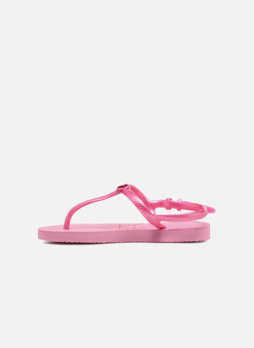 Sandals Havaianas Kids Freedom Pink front view