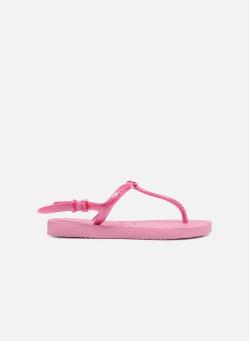 Sandals Havaianas Kids Freedom Pink back view