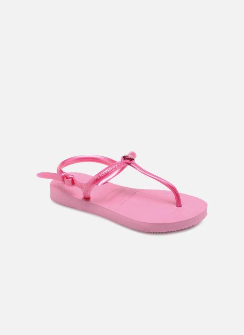 Sandales et nu-pieds Havaianas Kids Freedom Rose vue détail/paire