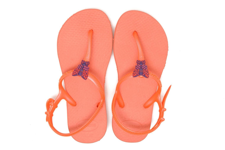 Sandalen Havaianas Kids Freedom Oranje 3/4'