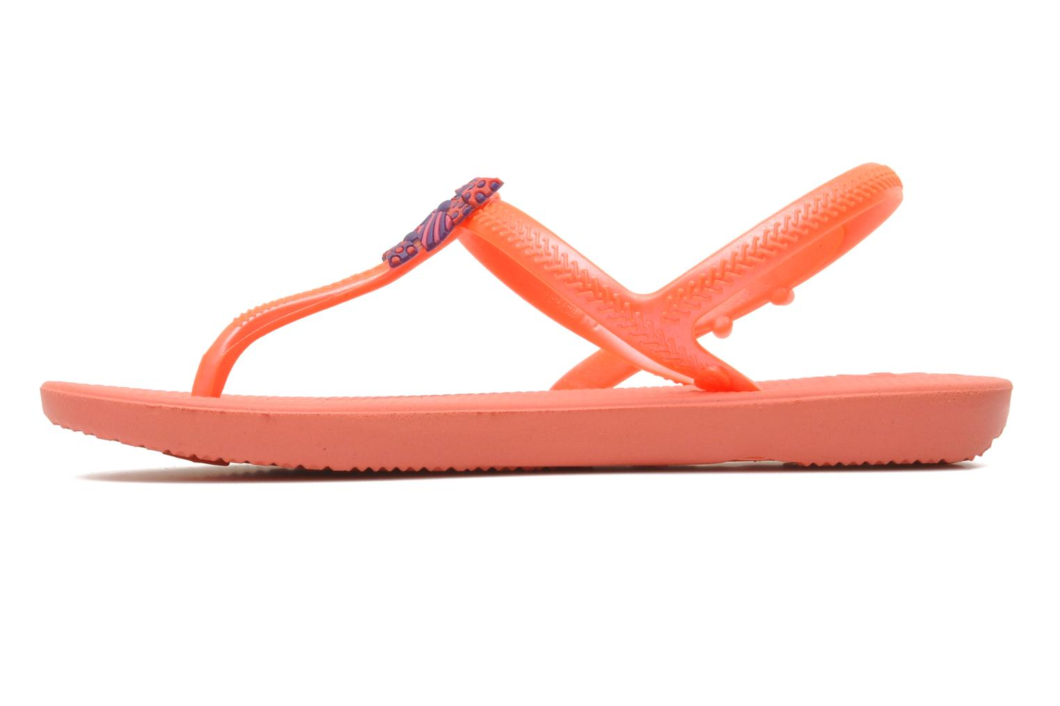 Sandales et nu-pieds Havaianas Kids Freedom Orange vue face